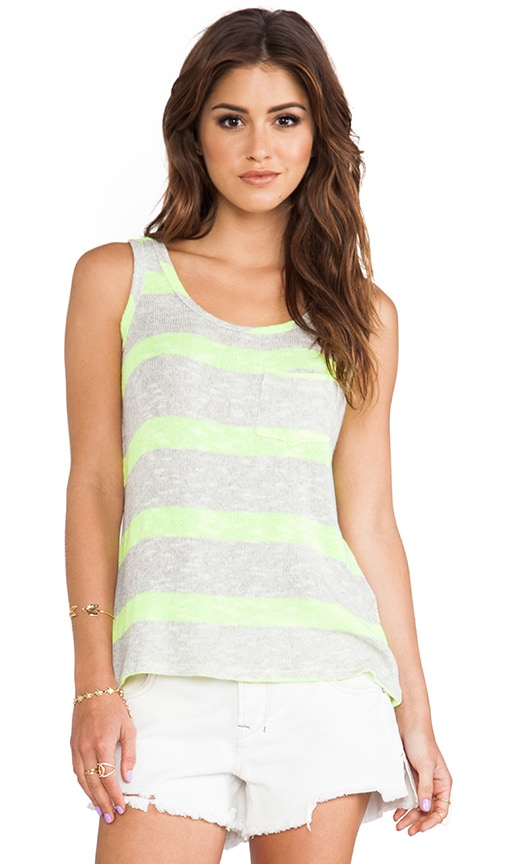 Loose Knit Pocket Tank