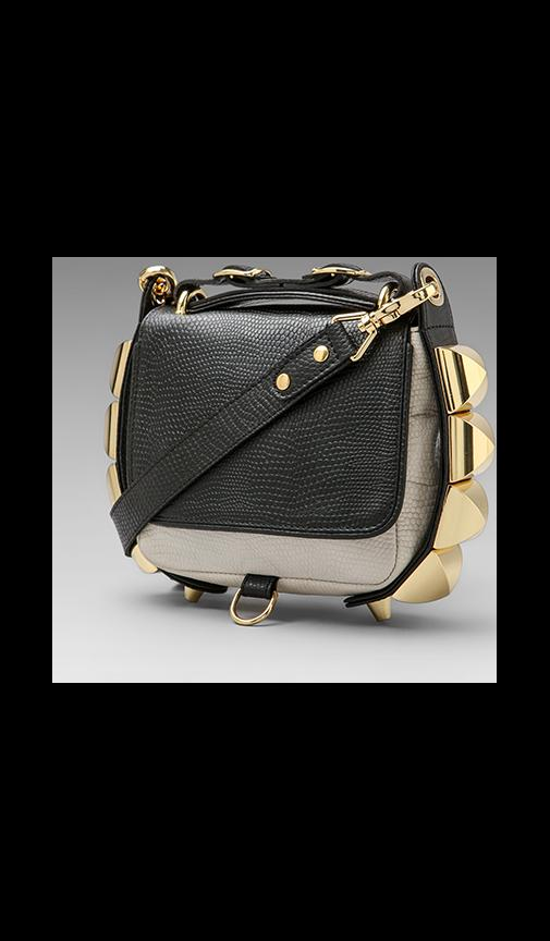 The Studded Eden Two Tone Python Crossbody