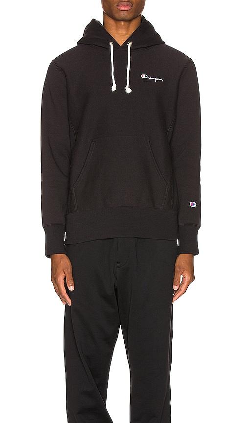 Champion T-shirts Small Script Hooded Sweatshirt