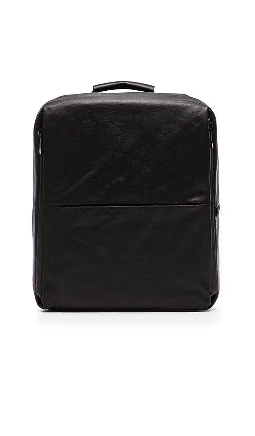 Cote & Ciel Rhine Flat Backpack in Black