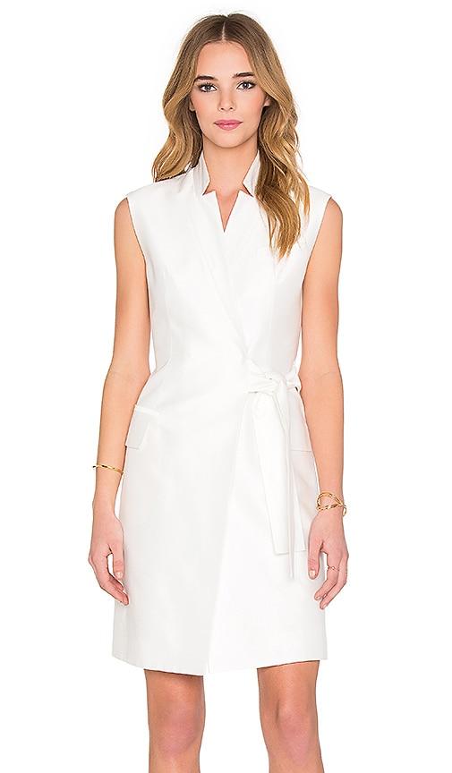 Acler Montego Vest Dress in Ivory