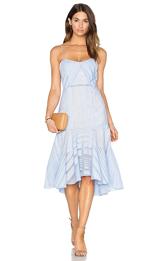 Acler Argent Bustier Dress in Blue