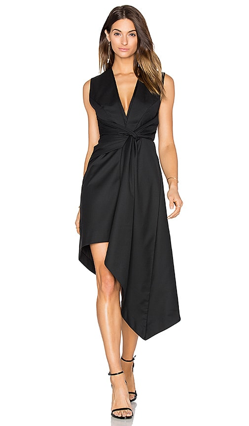 Acler Harper Dress in Black