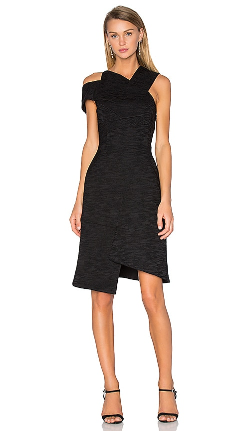 Acler Oliver Dress in Black
