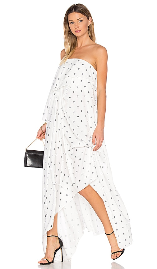 Acler Oxford Maxi Dress in White