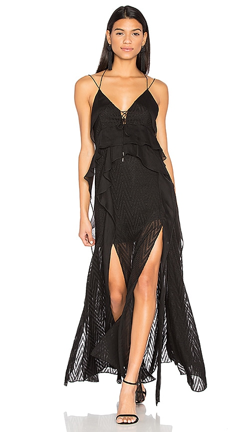 Acler Barton Maxi Dress in Black