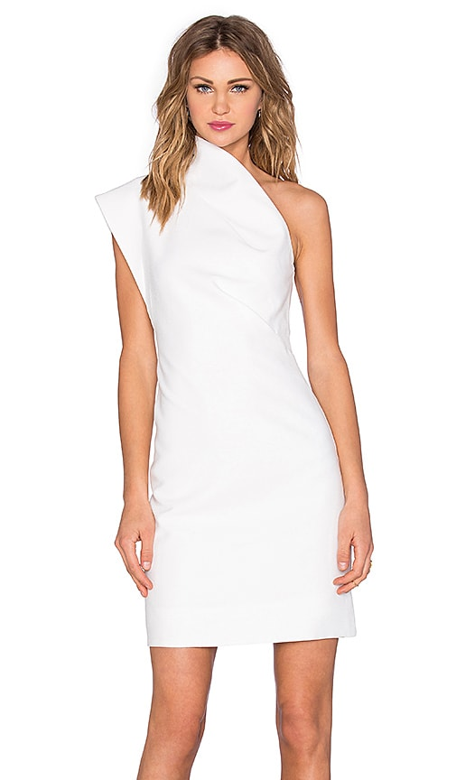 Acler Angus Dress in Ivory