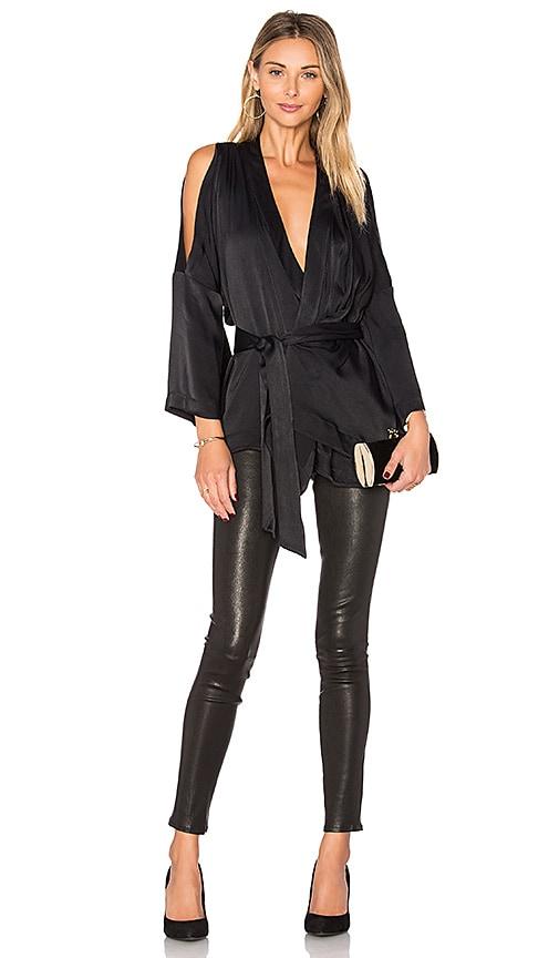 Acler Knox Kimono in Black