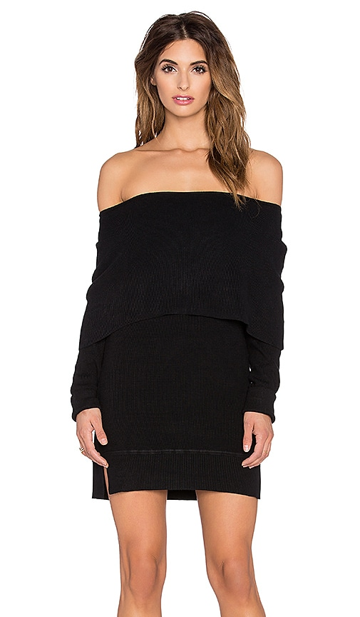 Sochi Off The Shoulder Sweater Dress