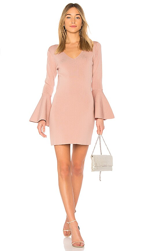 9a626c018 Central Park West Olympia Dress in Mauve