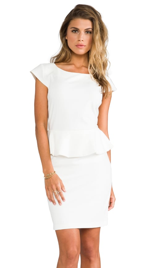 Newport Peplum Short Sleeve Dress