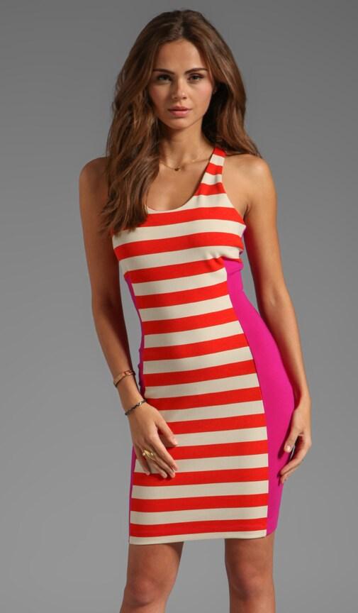 San Juan Striped Dress