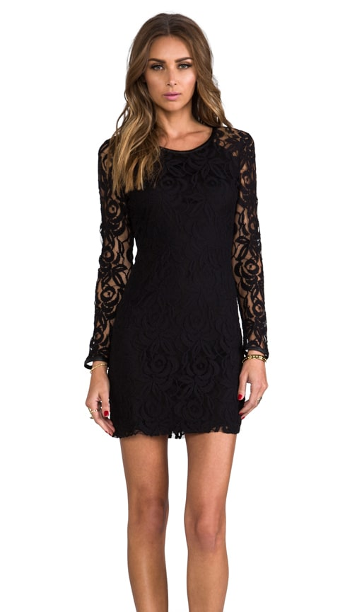 Harlem Square Lace Dress