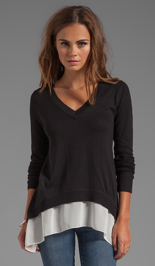 V Neck Marblehead Sweater