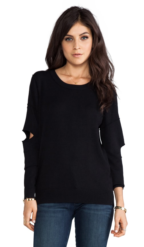 Barclay Cutout Sleeve Pullover