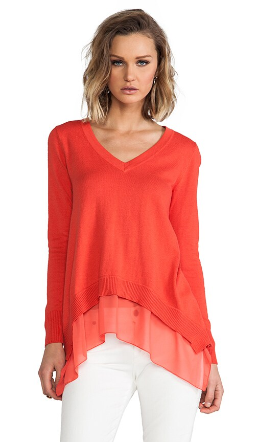 Chile Layered V-Neck Sweater