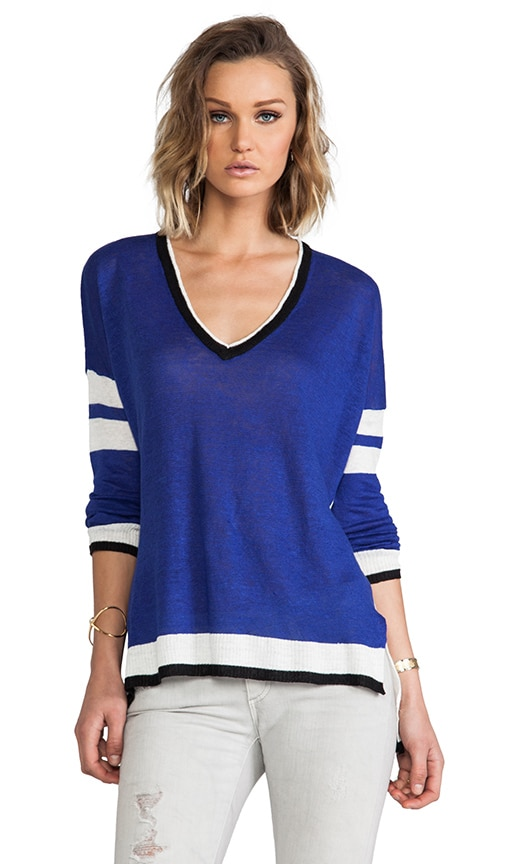 Zanzibar Color Block Sweater