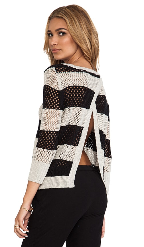 Borneo Striped Pullover
