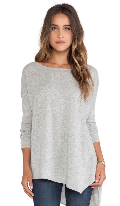 Luxe Cashmere Asymmetric Hem Sweater
