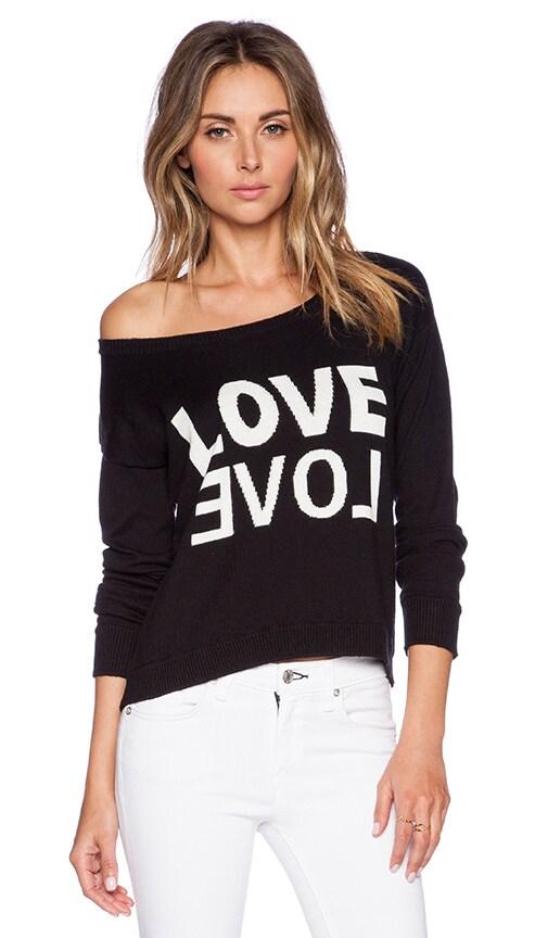 San Antonio LOVE Cropped Sweater