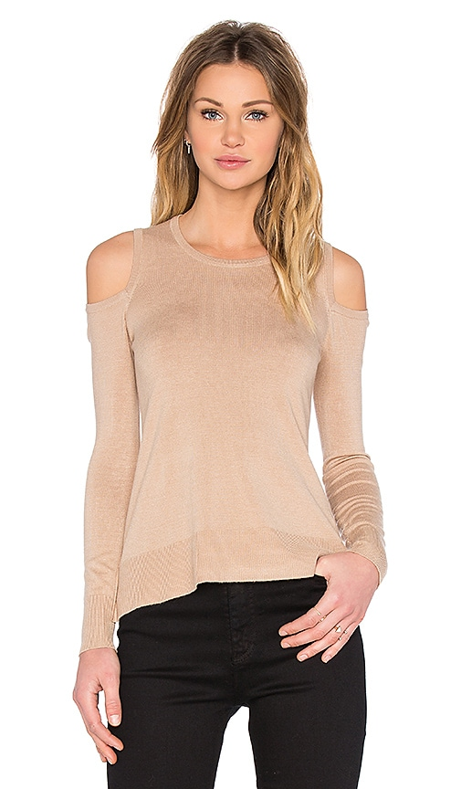 Provence Cold Shoulder Sweater