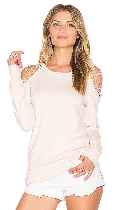 Central Park West Galveston Sweater in Pink