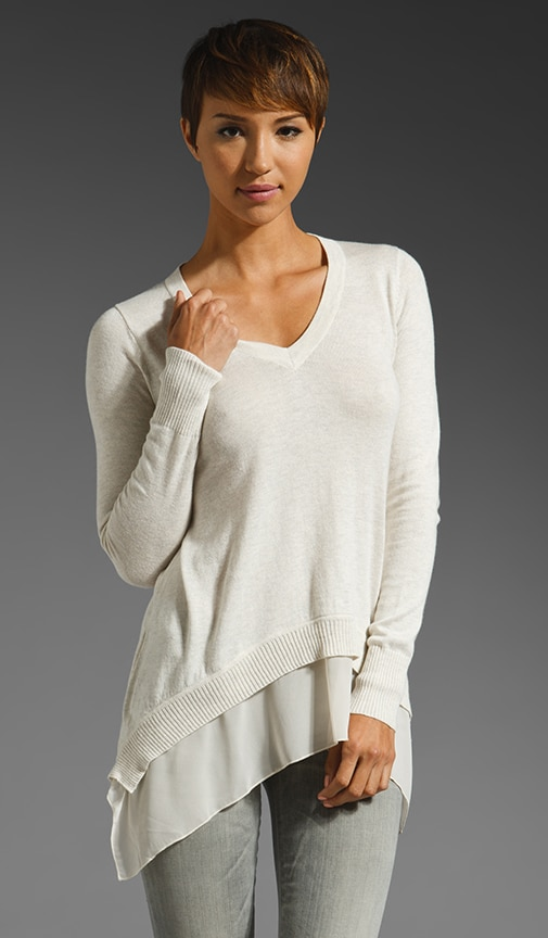 Bryant Park V Neck Sweater
