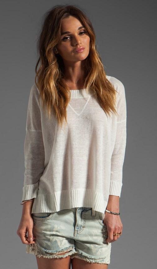 Texarkana Linen Varsity Pullover