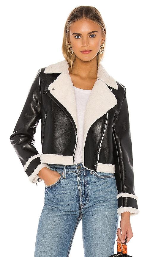 Faux Fur Hunter Moto Jacket