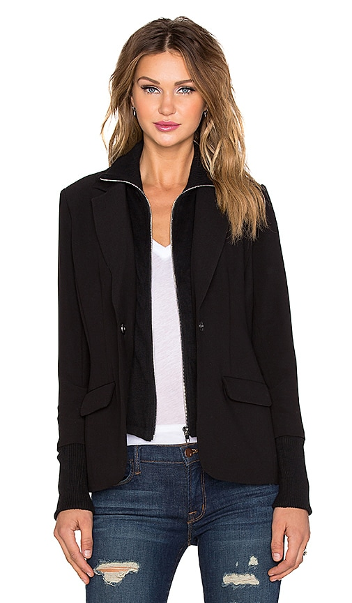 Central Park West Paraguay Blazer in Black