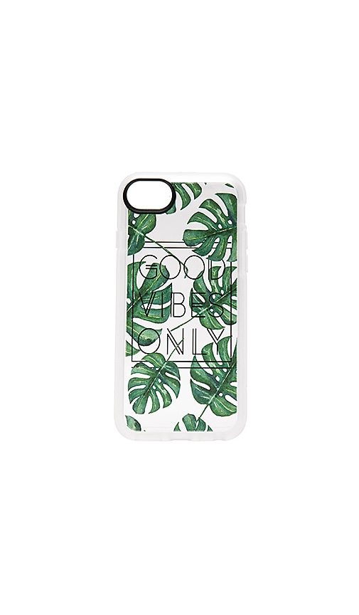 Casetify GVO Tropical Leaves iPhone 7 Case in Green