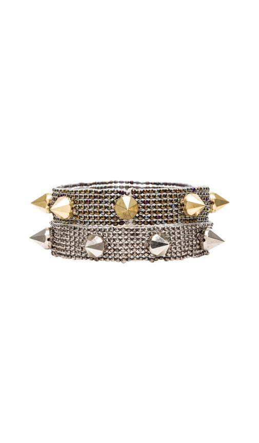 Studs Beaded Bracelet