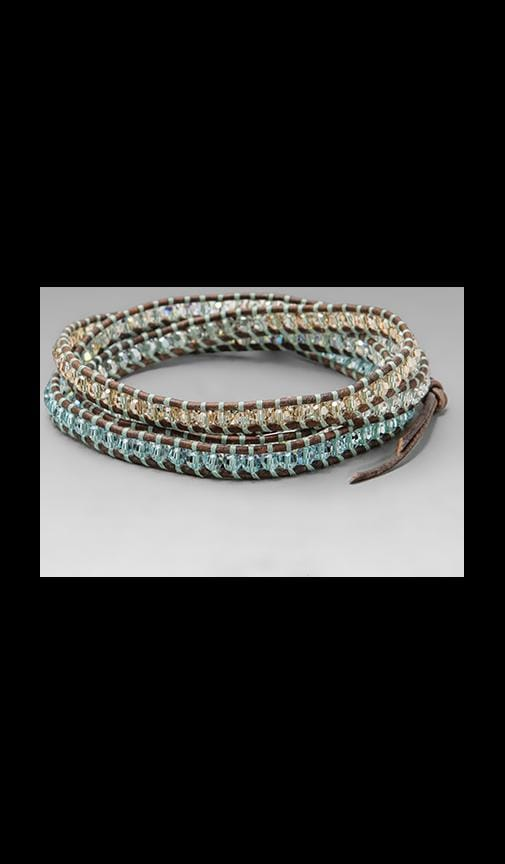 Natural Leather Wrap Bracelet