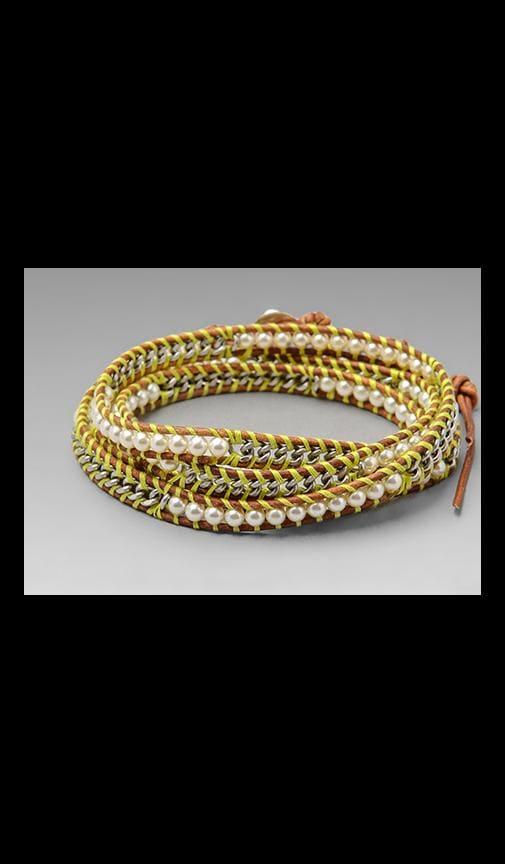 Threaded Wrap Bracelet