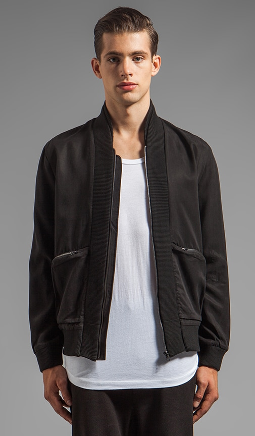 Cam Cross Zip Bomber Jacket