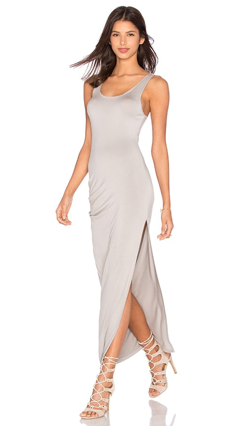CHARLI Tovi Tank Maxi Dress in Silver