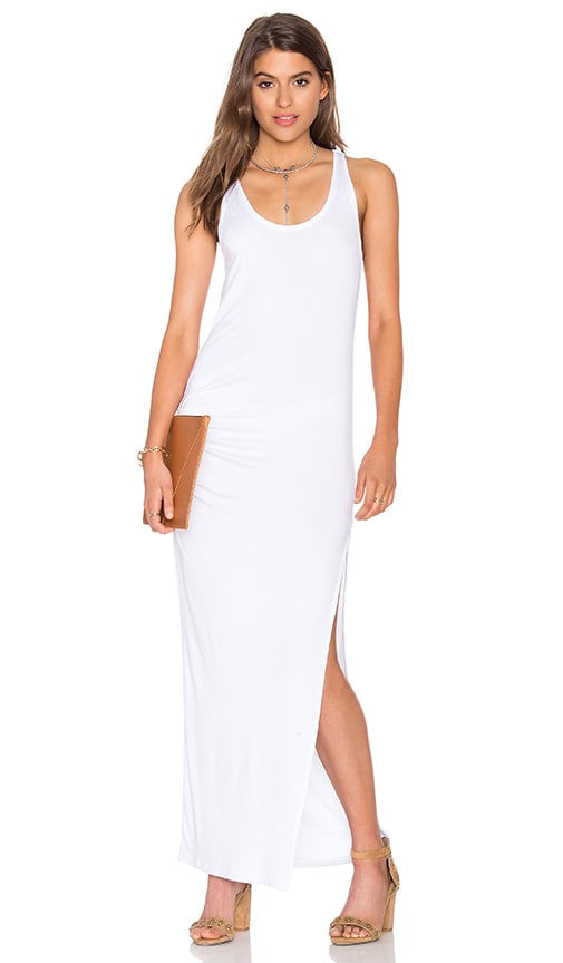 CHARLI Tovi Tank Maxi Dress in White