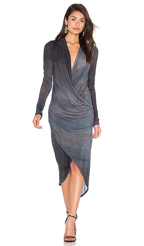 CHARLI Cassie Dress in Slate