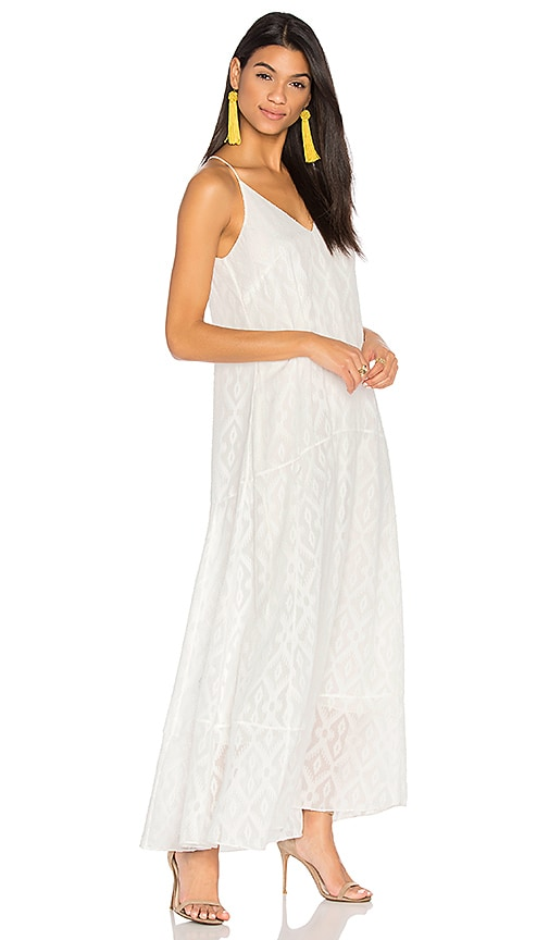CHARLI Cardenna Maxi Dress in White