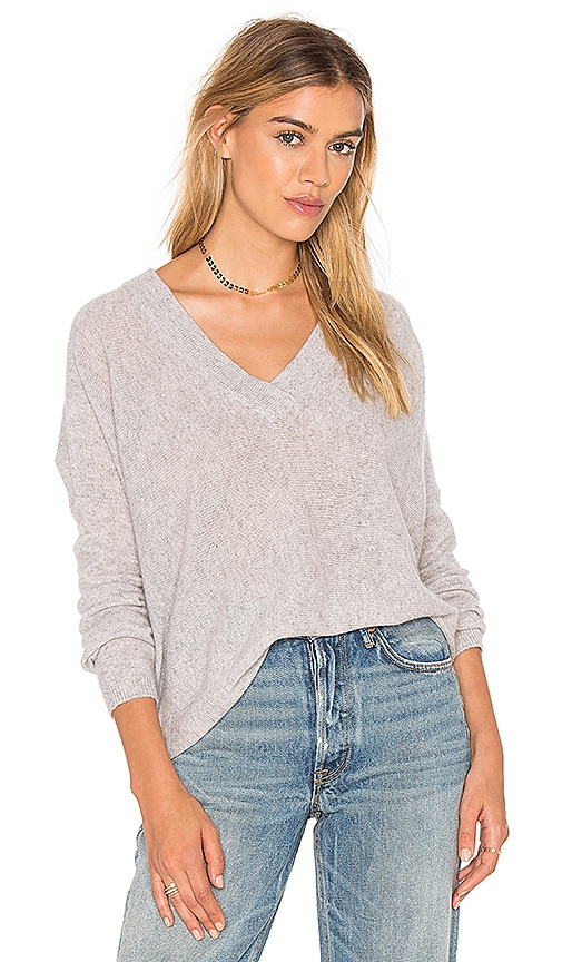CHARLI Carys Cashmere Sweater in Grey