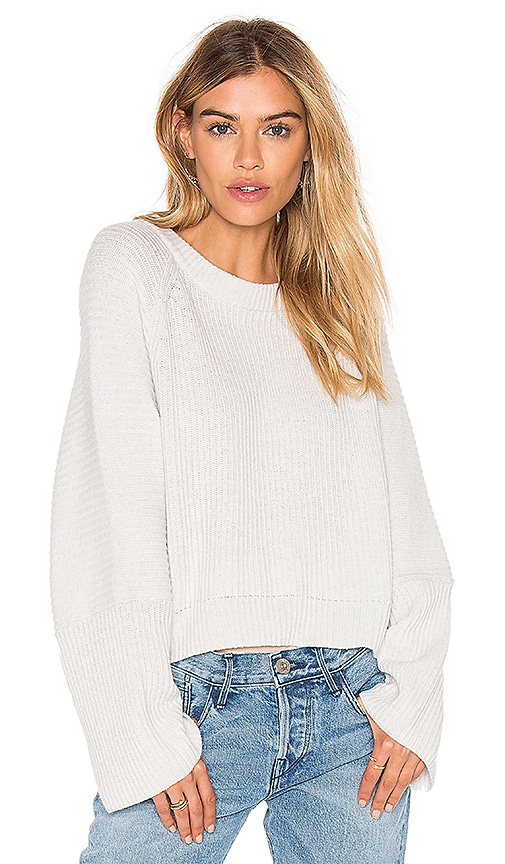 CHARLI Chance Sweater in Light Gray