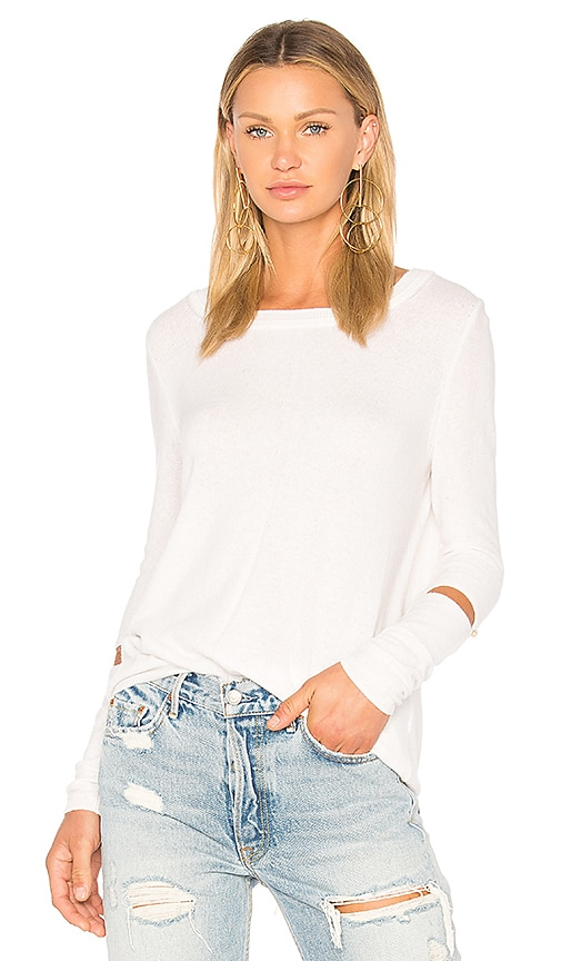 CHARLI Ellin Cashmere Sweater in Ivory