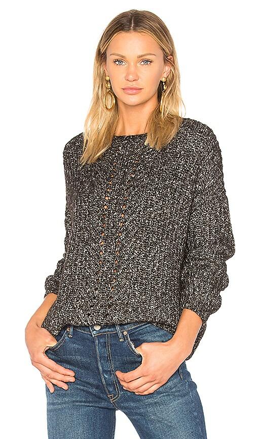 CHARLI Yori Melange Sweater in Black