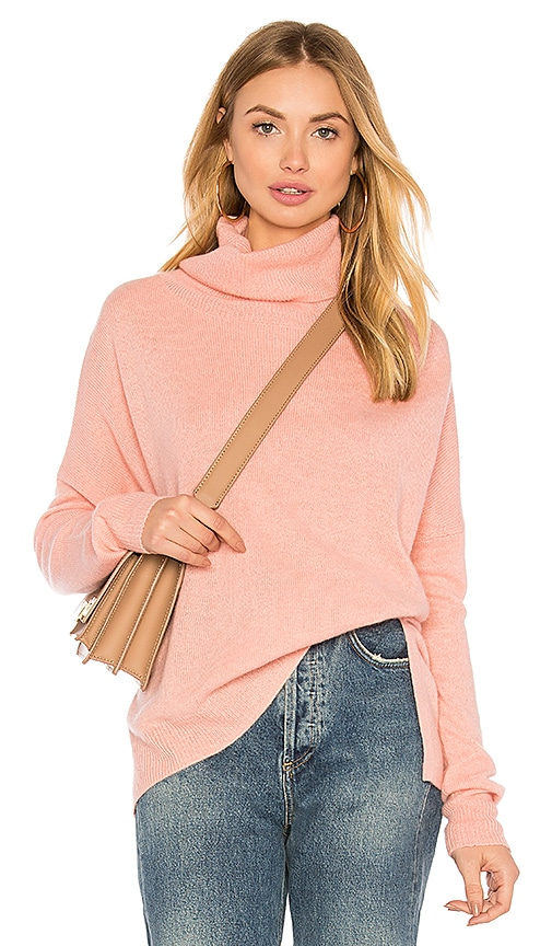 CHARLI Cilian Turtleneck Sweater in Pink