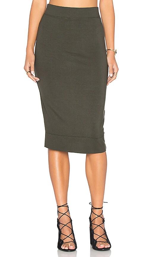 CHARLI Palermo Skirt in Dark Green