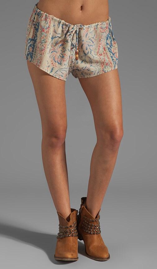 <DEPRECATED> Chaser Vintage Tapestry Silk Drawstring Shorts