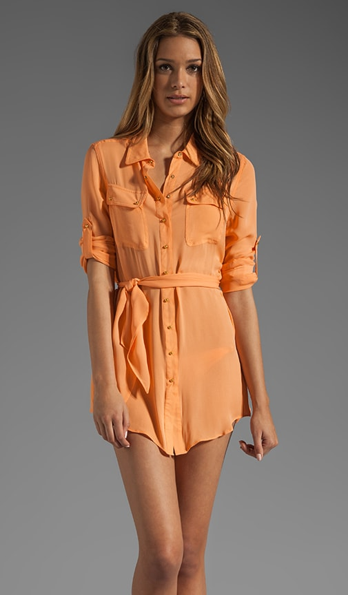 Resort Silk Shirtdress
