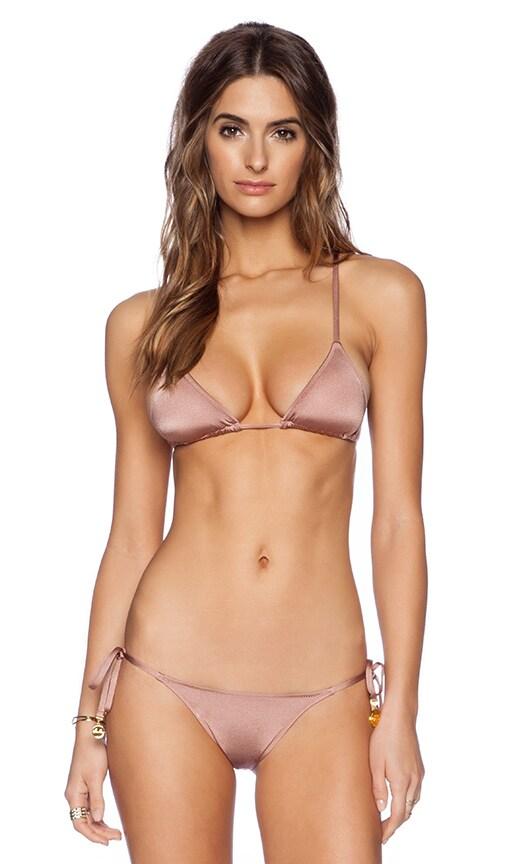 Grecian Coin Triangle Bikini Top