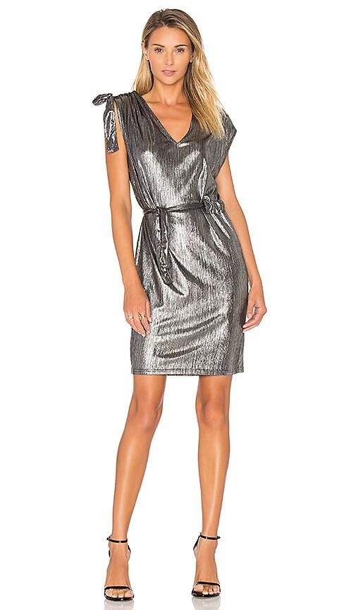 Cheap Monday Lurex Dress in Metallic Silver