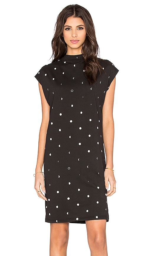 Cheap Monday Capsule Dress in Moon Black